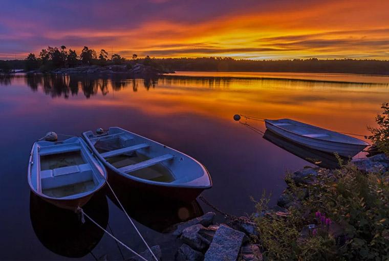 Лодки прогулочные