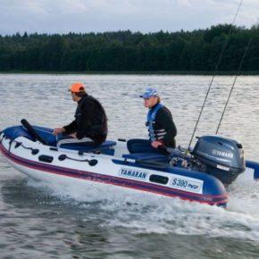 Лодки ПВХ с мотором